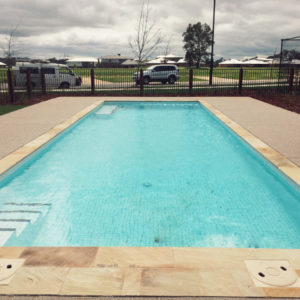 A lakeside pool for Nagambie's newest estate
