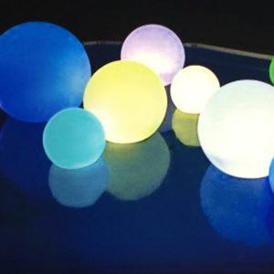 LED Glow Beach Balls
