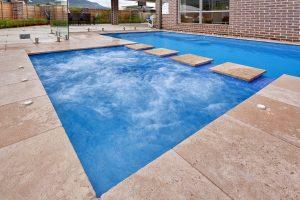 Naughtons Pools Installing Fibreglass Inground and Above Ground Spas
