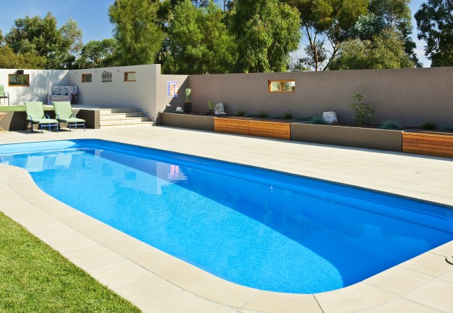 compass fibreglass pools riviera