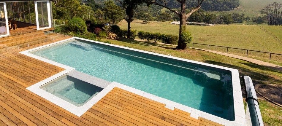 Are Fibreglass Infinity Pools Possible Naughtons Pools